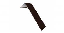 Металлические доборные элементы для фасада в Нижнем Новгороде Планка лобовая/околооконная простая 190х50